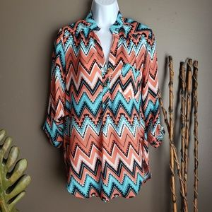 Wishful park southwest boho top